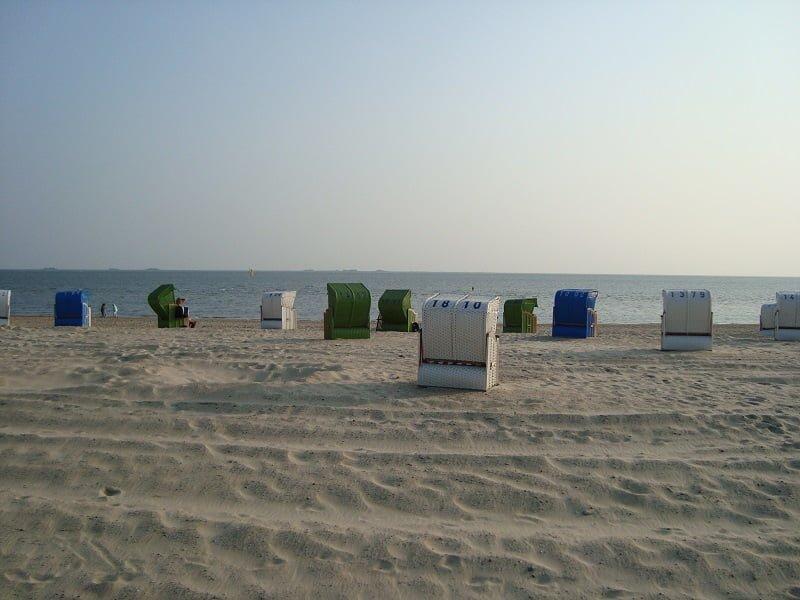 Nordsee Strand auf der Insel Föhr