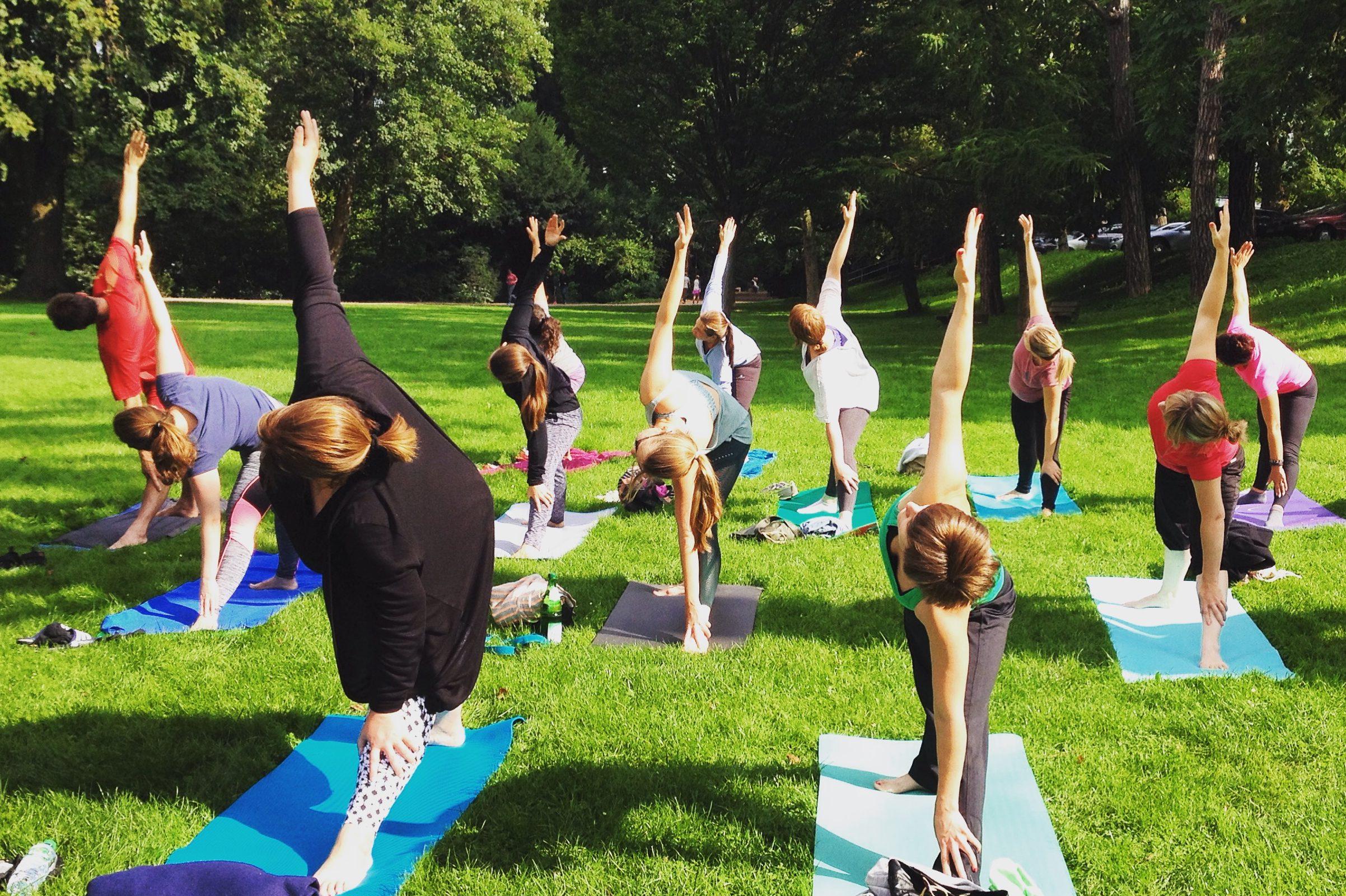Meine Top 5: Was dir alles beim Yoga im Park passieren kann